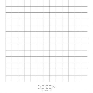 Grid- 45/45 cm Square vinyl backdrop