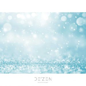 Blue lights – 50/70 cm vinyl backdrop