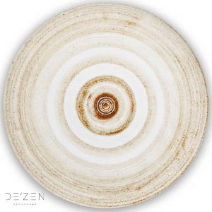 Ceramic plate – Ø35 cm round vinyl backdrop