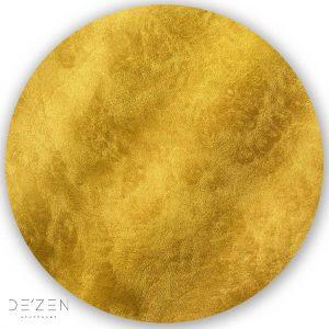 Gold – Ø35 cm round vinyl backdrop