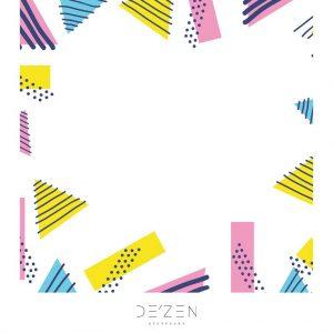 Memphis 04- 45/45 cm Square vinyl backdrop