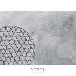 Black net concrete – 50/70 cm vinyl backdrop