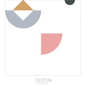 Shapes 03- 45/45 cm Square vinyl backdrop
