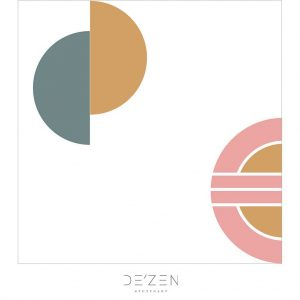 Shapes 02- 45/45 cm Square vinyl backdrop
