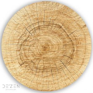Wood – Ø35 cm round vinyl backdrop