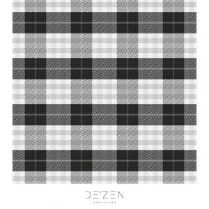 Gray tartan- 45/45 cm Square vinyl backdrop