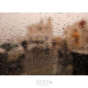 Rainy window – 50/70 cm vinyl backdrop