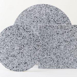 Dark grey terrazzo- Still Life podium stand